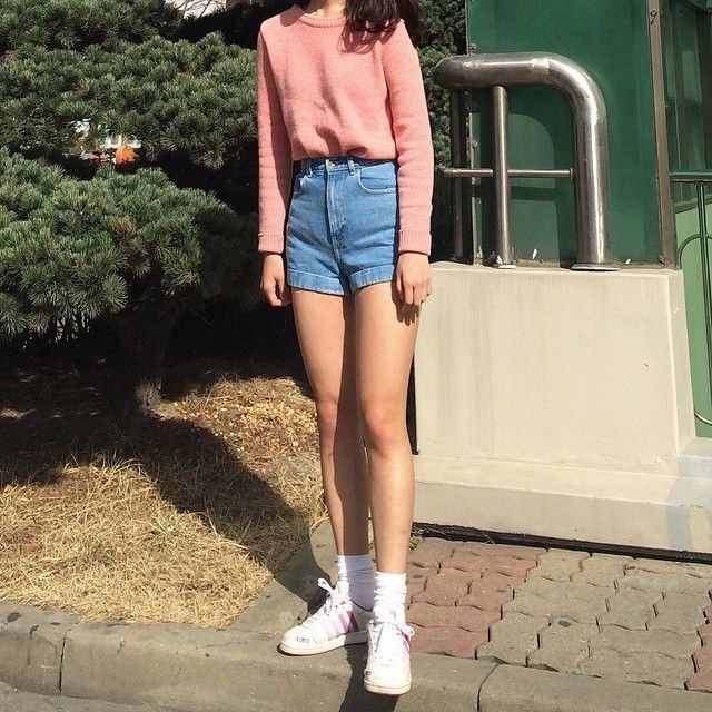 Image result for 90s x korean fashion