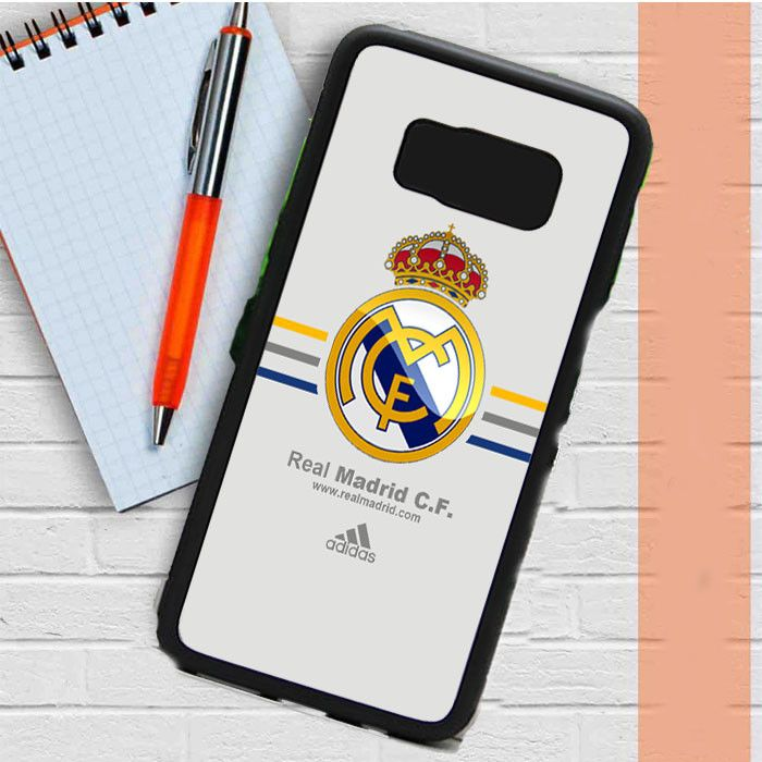Real Madrid Club De Fútbol La Liga Spanyol Logo Samsung Galaxy S8 Plus Case Casefreed