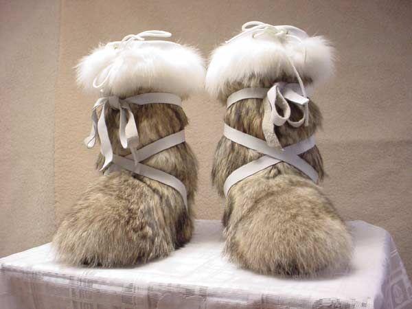 Peter Paul Fur Alaskan Mukluks snow boots | Alaska | Boots ...