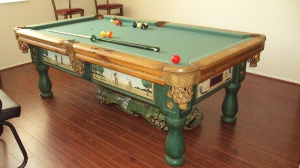 Suitable Used Pool Tables for the Game Room: Used Pool Tables Simple Elegant ~  General Inspiration