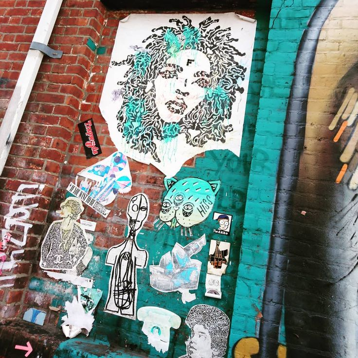 Just a little bit of the art we saw en route to the Brookly Brewery. I love the album shot for the Miseducation of Lauren Hill. Growing up it was one of my many go to albums. So nice to see its still popular with somebody other than me  #williamsburg #brooklyn #newyork #nyc #grafittinyc #grafittilove #wall #wallart #walllartists #graffiti #streetart #art #artwork #artist #color #themiseducationoflaurynhill #stickers #stickerart