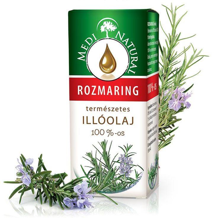 ROZMARING illóolaj (Rosmarinus officinalis)