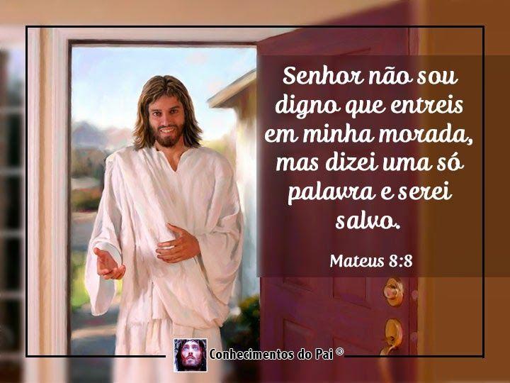 Querido Deus Em Tuas Mãos Coloco Minhas Preocupações: Senhor Não Sou Digno Que Entreis Em Minha Morada, Mas