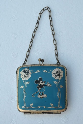 Mickey Mouse Purse, ca. 1930s, made for a child but with a very adult price.
