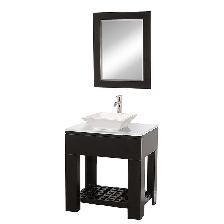 Pics Of Zen II Modern Bathroom Vanity Set Espresso Bathroom Vanities