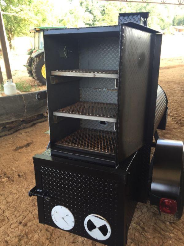 Trailer smoker --BBQ -- Rib Box