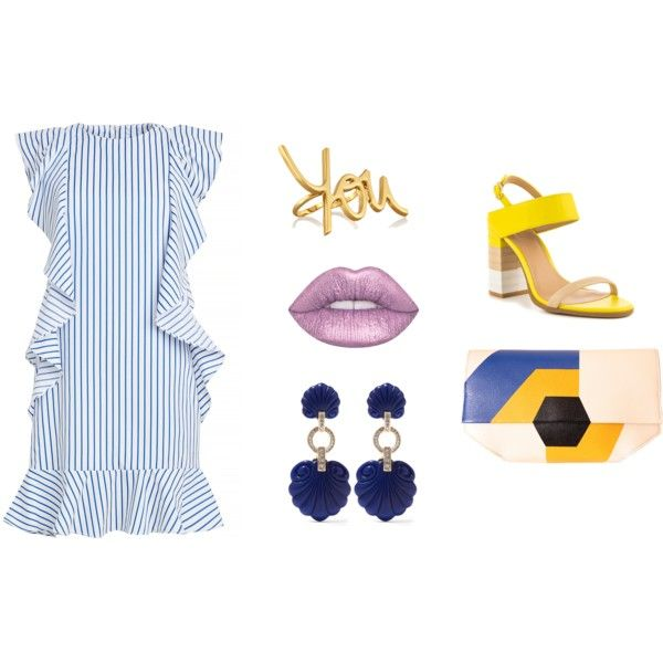 Summer Vibes by alcalams on Polyvore featuring ALDO, DESA, Lanvin and Kenneth Jay Lane