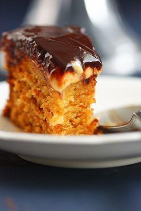 Ciasto miodowe z Devonshire