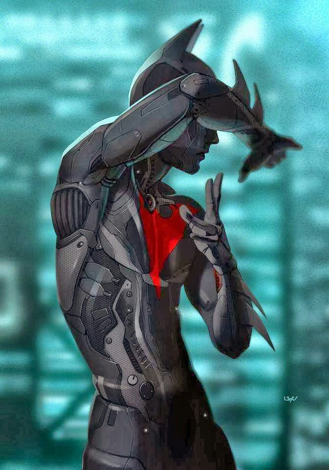 Batman Beyond, interesting version of the suit