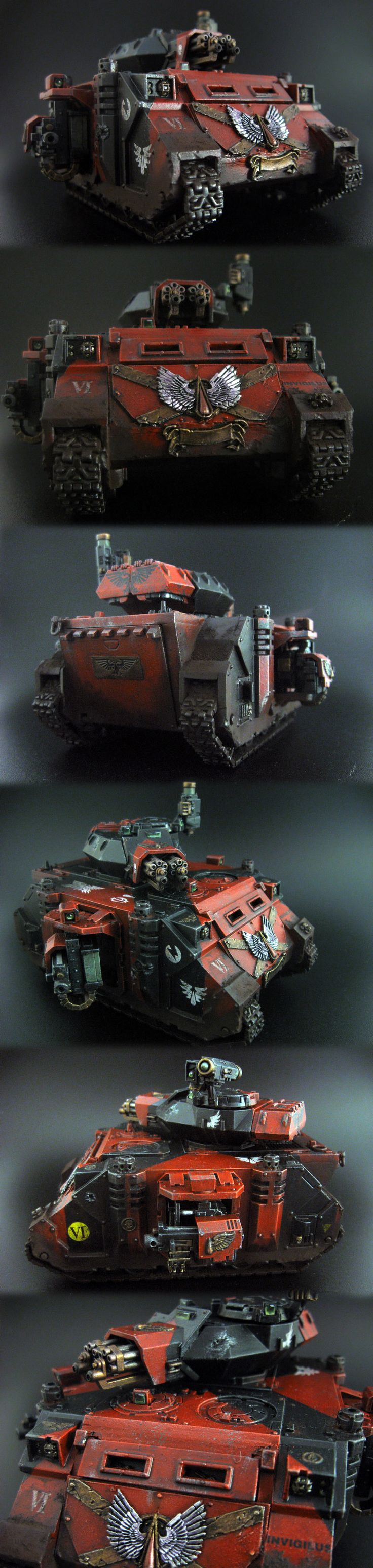 Blood Angels Army Project (pic carpet bombing) - Page 50