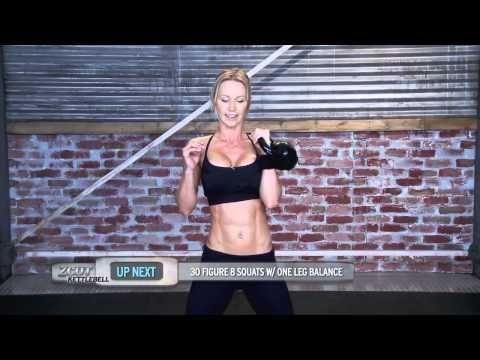 Zuzka Light - kettlebell workout for beginners - YouTube  10 mins