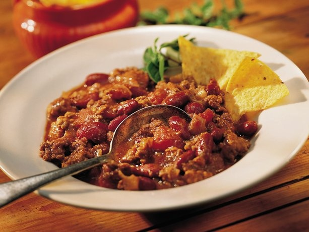 Chili Con Carne - My recipe is simple and looks just like this picture. Yum -- will make it soon!