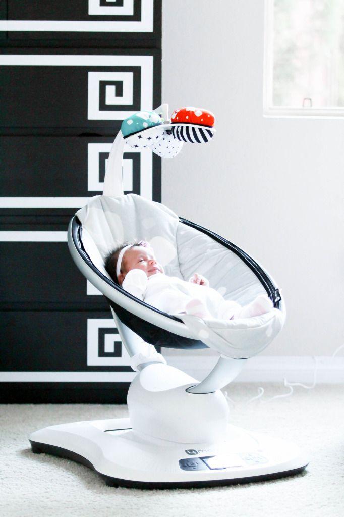 Baby Vienna's Nursery Tour & NEW 2015 @4moms mamaRoo Baby Rocker Giveaway   BondGirlGlam.com