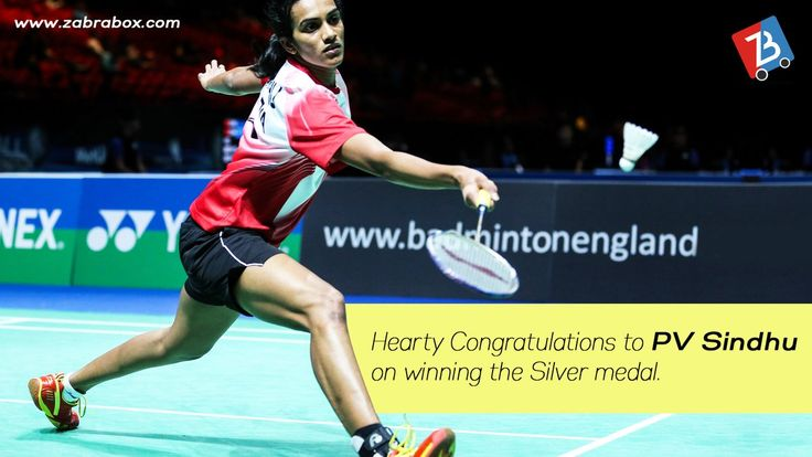 Congratulations P V Sindhu for the Silver Medal. You are inspiration for many.  #WorldBadmintonChampionships