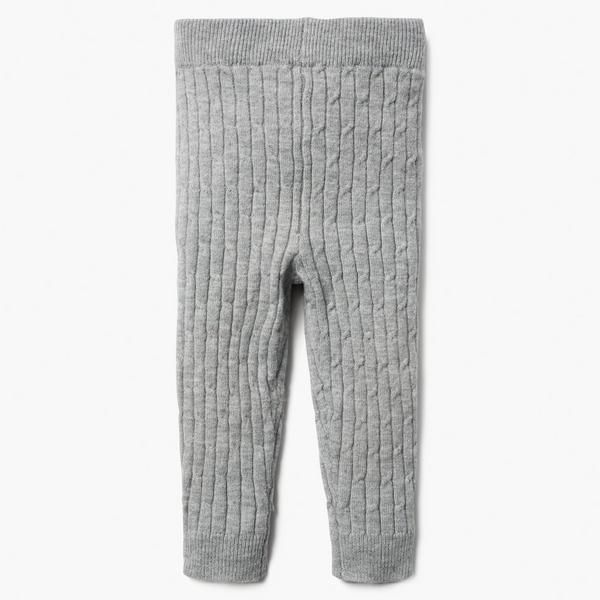 Baby Girl Dove Grey Cable Knit Leggings By Gymboree Kids Outfits Toddler Outfits Girl Outfits