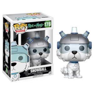 Rick and Morty Snowball Pop! Vinyl Figure: Image 1