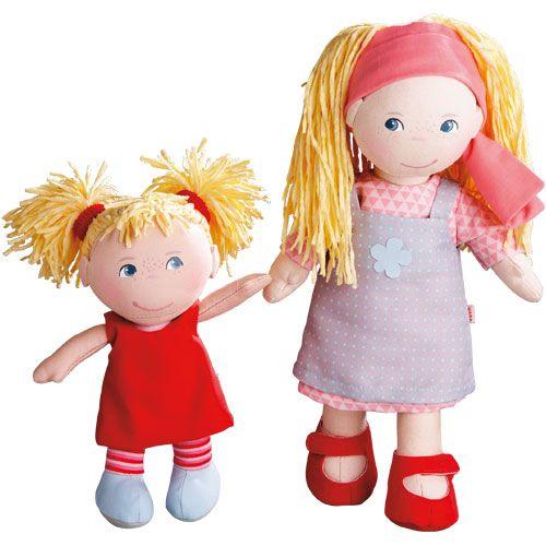 Puppen-Schwestern Lennja & Elin HABA 300128 - Große Schwester, kleine Schwester! ♥ sorgfältig ausgewählt ♥ Jetzt online bestellen!