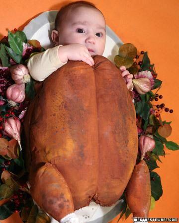 Roast Turkey Halloween Costume How-To