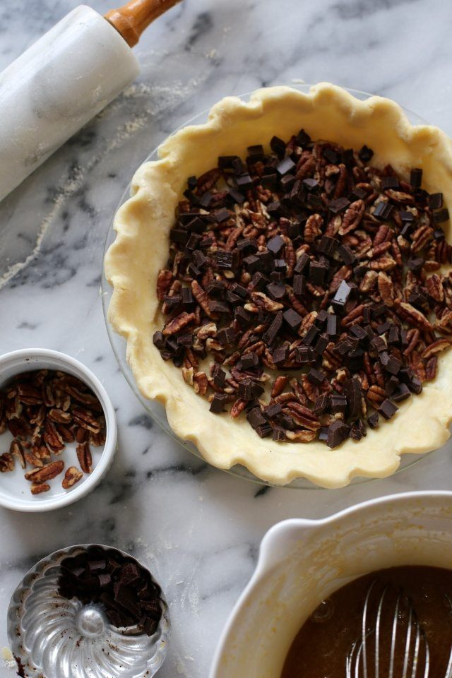 Chocolate Pecan Derby Pie
