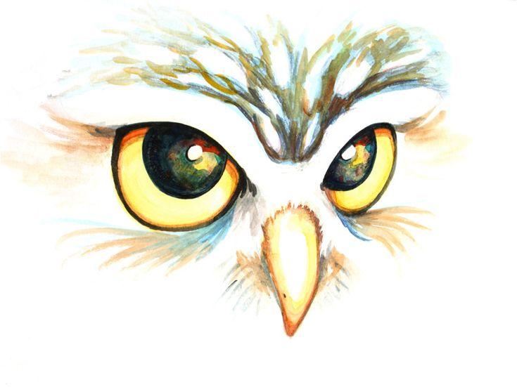 Owl Eyes Paintings ... Owl, Art Paintings...