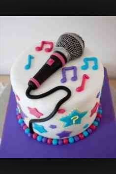 Microphone cake                                                                                                                                                      Más