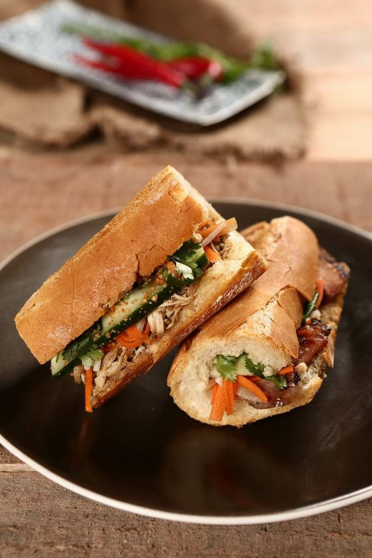 French may have brought with them the baguette, but Vietnam have taken it to a different level. Try our 'Bahn Mi', cross culture kind of taste!