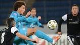 Axel Witsel (FC Zenit St Petersburg) & Jérémy Toulalan (Málaga CF)   Zenit 2-2 Málaga. 21.11.12