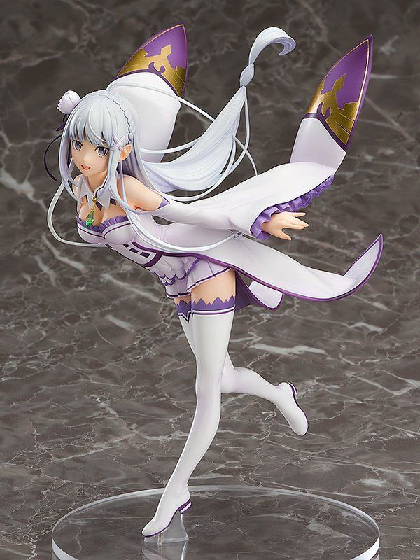 Re Zero Starting Life In Another World Emilia 1 7th Scale Figure Anime Figures Anime Anime Figurines