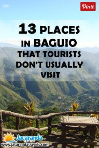 13 Tourist Spots in Baguio