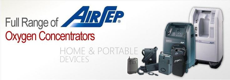 AirSep (USA) devices providing world class homecare to COPD & ILD patients who need oxygen therapy...