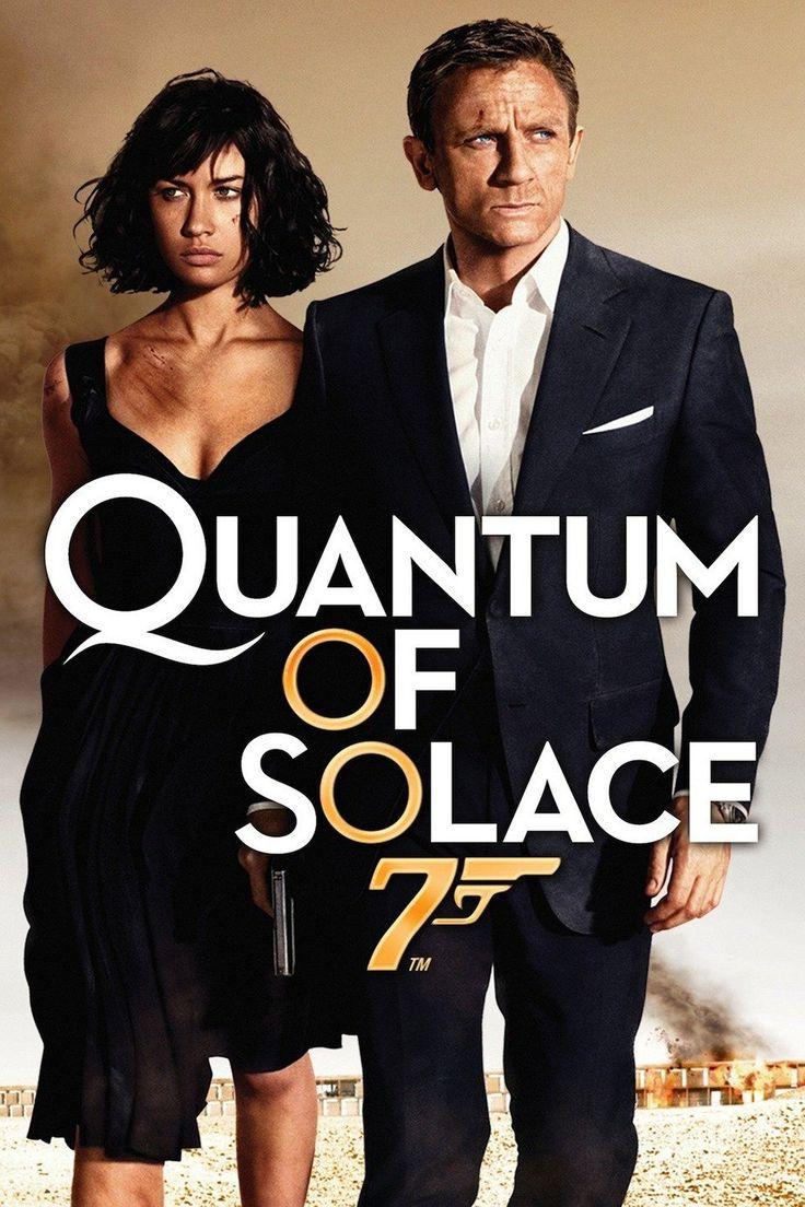 Quantum of Solace est un film d'espionnage britannico-américain réalisé par Marc Forster et sorti en 2008. C'est le 22e opus de la série des films de James Bond produite par EON Productions.  Le film reprend le titre original d'une des nouvelles composant le recueil Bons baisers de Paris de Ian Fleming3. Le titre français du film est Quantum of Solace, alors qu'au Québec, c'est 007 Quantum4.  Daniel Craig incarne pour une deuxième fois l'agent secret