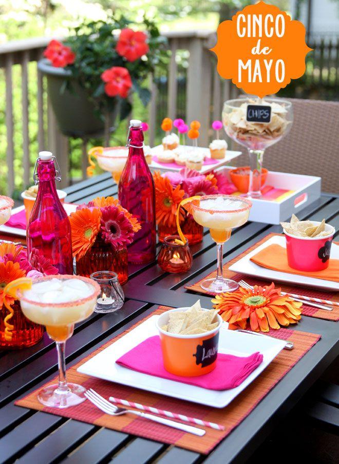 Kolorowa, a jakże prosta dekoracja stołu