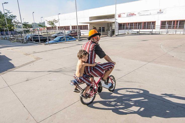 Bike com Téo