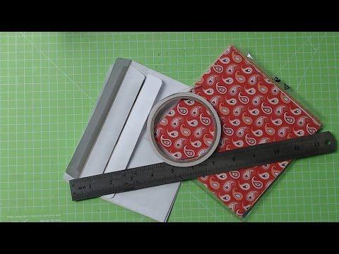 +++Watch me Craft+++Ein Flipbook aus Briefumschlägen Basis+++ - YouTube