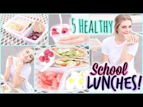 ▶ A Week of Healthy Lunch Ideas for Back to School! | Aspyn Ovard - YouTube