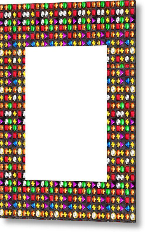 Border Frames Artistic Multiuse Buy Print Or Download For Self-printing  Navin Joshi Rights Managed  Metal Print By Navin Joshi