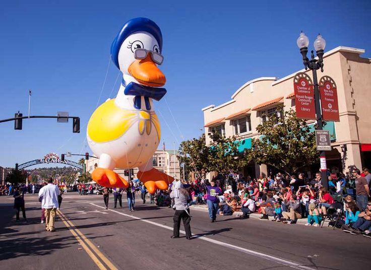 November Mother Goose Parade El Cajon, CA