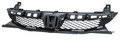 2009-2010 Honda Civic Coupe / Sedan / Hatchback Grille Mat Black