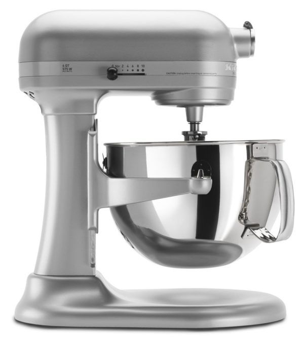 KitchenAid Mixer Pro 600 6 Quart Silver