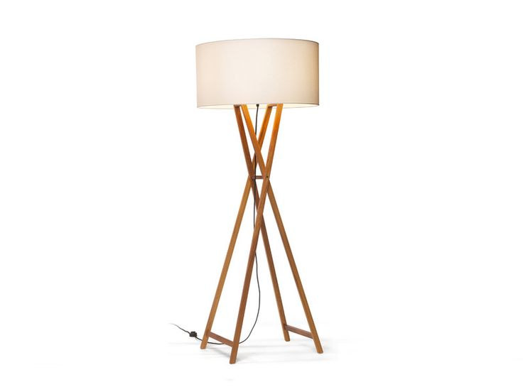 The Cala Floor Lamp takes inspiration from the shape of a classic artist's easel and provides warm comfortable light.
