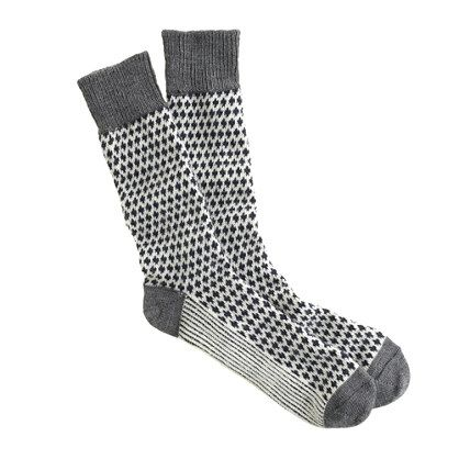 J.Crew - Heavyweight wool patterned socks