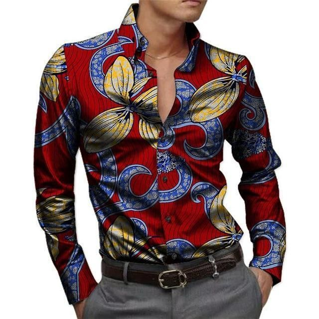 77b5d50a Buy African Men's Shirts Kitenge Dashiki Shirt at LeStyleParfait.Com for  only $46.00 USD
