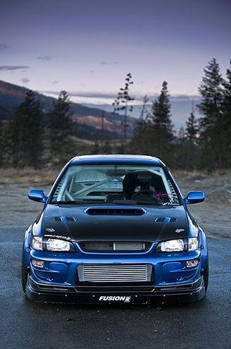 Subaru Impreza STI - not originally available stateside
