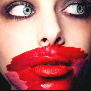 Foldaway Tote - Bitter Lips Red by VIDA VIDA 5rvtDKBKlw