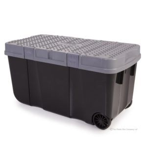 Large Plastic Storage Box On Wheels
