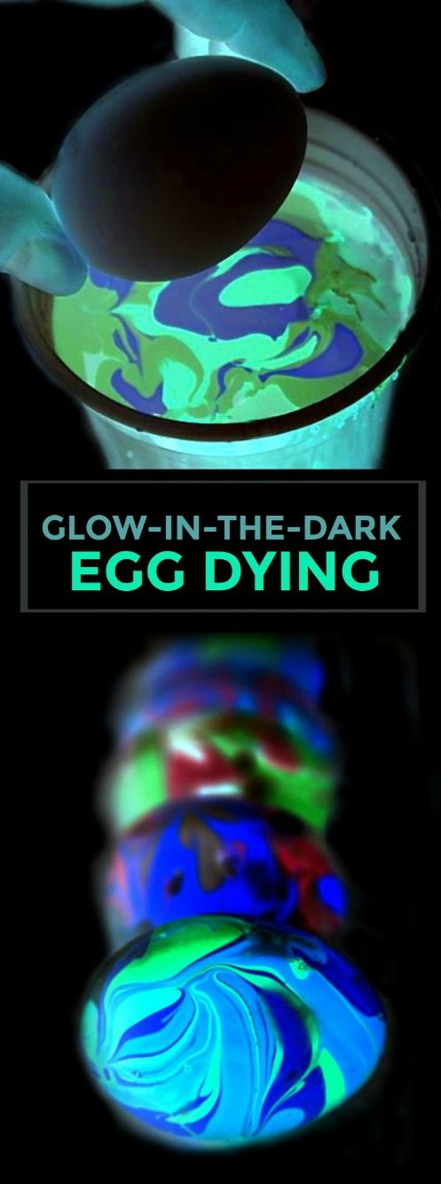 We have found so many fun ways to decorate Easter eggs over the years, but this next egg dying technique has to be the most stunning! My kids were mesmerized by the entire process and wanted to decor