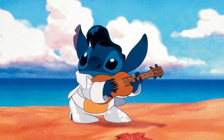 Suka bermain ukulele kayak Stitch? Yuk cari tahu dulu fakta-fakta seru tentang ukulele!  Source: cinema.sky