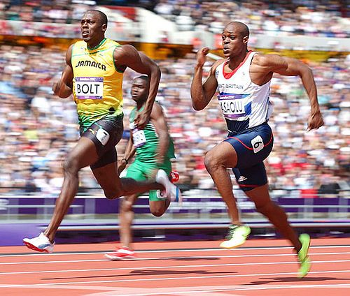 Usain Bolt good running