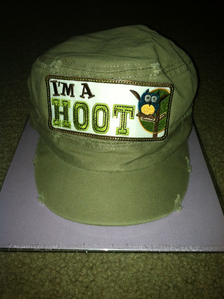 Dabbled in a little Hat decor for a little one... Love how it turned out!  #CreationCorner