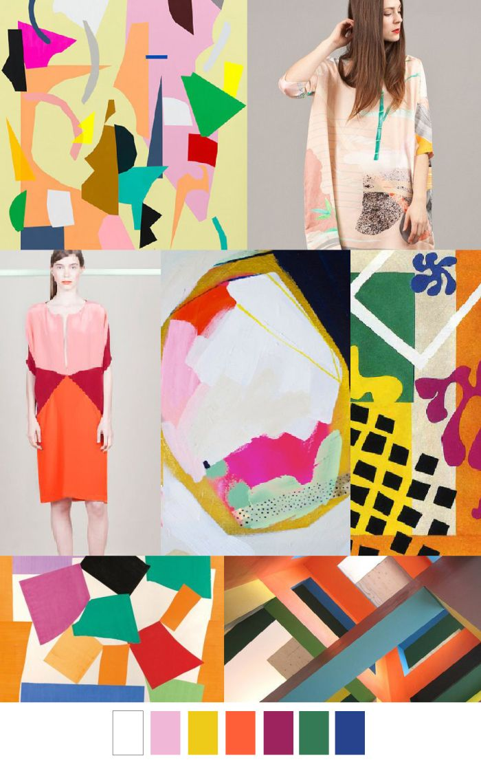 DECOUPAGE COLLAGE | pattern curator